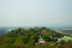 Wat Prathad Doi Saket Zdjęcie Royalty Free
