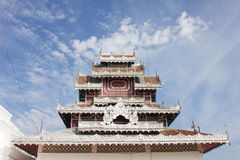Wat Prathat Doi Kong MU Στοκ Φωτογραφία