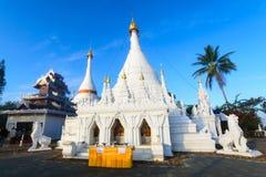 Wat Prathat Doi Kong Mu Maehongsorn,泰国 库存照片