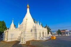 Wat Prathat Doi Kong Mu Maehongsorn,泰国 免版税库存图片