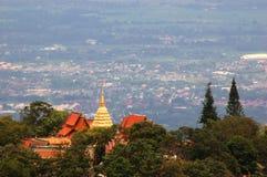 Wat Prathat Doi Suthep immagine stock