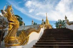 Wat Prathat Doi Wao przy Mae Sai, Chiang Raja Obrazy Stock