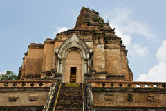 Wat Prathat Jedee Luang Royalty-vrije Stock Foto