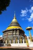 Wat Prathat Lampang Luang Стоковое Фото