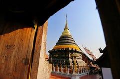 Wat Prathat Lampang Luang Стоковые Фото