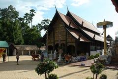 Wat Prathat Lampang Luang przy północą Tajlandia Zdjęcia Stock