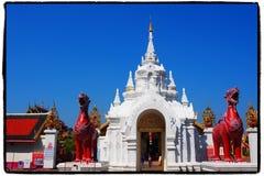 Wat-prathat Lamphun lizenzfreie stockfotografie