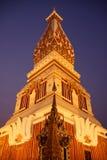 Wat Prathat Panom nella luce notturna Fotografia Stock