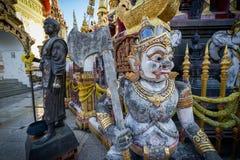 Wat Prathatsuthone, Phare 库存照片