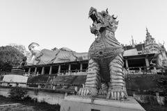 Wat Prathatsuthone, Phare 免版税库存图片
