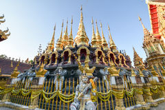 Wat Prathatsuthone Phare thailand. North thailand royalty free stock images
