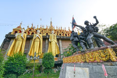 Wat Prathatsuthone Phare thailand. North thailand stock photography