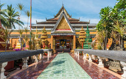 Wat Preah Ang, Siem Reap, Camboya Imágenes de archivo libres de regalías