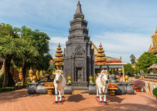 Wat Preah Ang, Siem Reap, Camboya Fotografía de archivo libre de regalías
