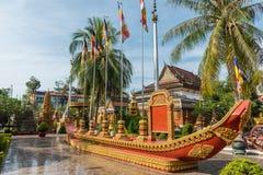 Wat Preah Ang, Siem Reap, Kambodscha Lizenzfreies Stockfoto