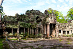 Wat Preah Khan Stockbild
