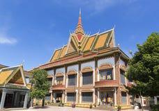 Wat Preah Prom Rath en Siem Reap foto de archivo