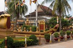 Wat Preah Prom Rath en Siem Reap, Angkor, Camboya imágenes de archivo libres de regalías