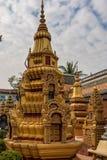 Wat Preah Prom Rath in Siem Reap, Angkor, Cambogia fotografia stock libera da diritti