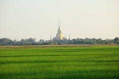 Wat Prong Arkard. Chachoengsao Province stock photography