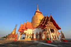 Wat Prong Arkard. Chachoengsao Province stock image
