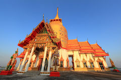 Wat Prong Arkard. Chachoengsao Province stock photo