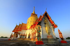 Wat Prong Arkard. In Chachoengsao Thailand stock images