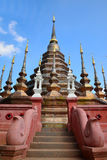Wat Pun Tao is Thai temple in chiangmai, Thailand.  Royalty Free Stock Images