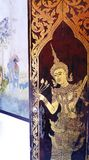 Wat qui Doi Suthep, art de temple Photographie stock libre de droits