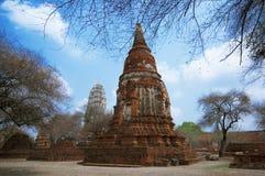 Wat Racha Burana, Ayudhya Province, Thailand Royalty Free Stock Image