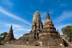 Wat Racha Burana, Ayudhya Province, Thailand Royalty Free Stock Photos