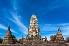 Wat Racha Burana, Ayudhya Province, Thailand Royalty Free Stock Photo