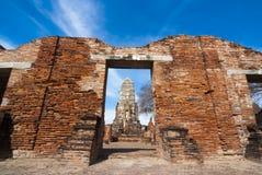Wat Racha Burana, Ayudhya Province, Thailand Stock Photo