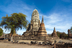 Wat Racha Burana, Ayudhya Province, Thailand Stock Image