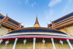Wat rachabophit bangkok thailand Royalty Free Stock Photos