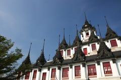 Wat Rachanadda of Bangkok Stock Image