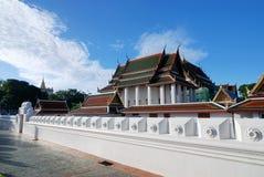 Wat Rachanutda, Bangkok Lizenzfreies Stockbild