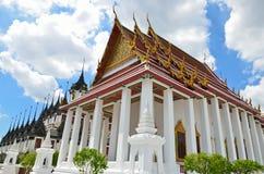 Wat Rachanutda, Bangkok Stock Photo