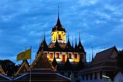 Wat rachchanadda thailand Royalty Free Stock Photo