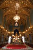 Wat Rajabopit、皇家坟茔和寺庙在曼谷 免版税库存照片
