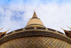 Wat Rajabopit、皇家坟茔和寺庙在曼谷 图库摄影