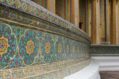 Wat Rajabopit, Royal Tombs and temple Royalty Free Stock Photography