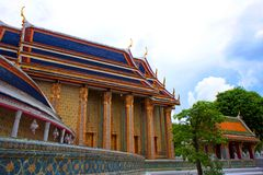 Wat Rajabopit.The temple in the Bangkok Royalty Free Stock Photo
