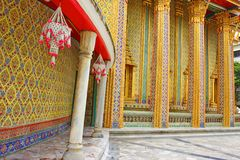 Wat Rajabopit.The temple in the Bangkok. Royalty Free Stock Photography