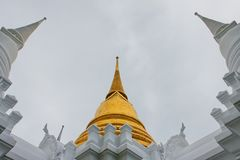 Wat Rajabopit.The temple in the Bangkok. Royalty Free Stock Images