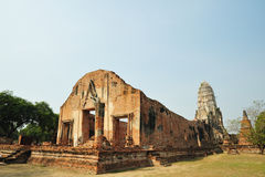 Wat rajaburana Stock Photo