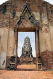 Wat Rajaburana Royalty Free Stock Images