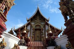Wat RajaMonTien fotografia de stock