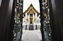 Wat Rajapradit (Rajapradit temple), Bangkok, Thailand Royalty Free Stock Photography