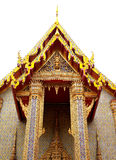 Wat Rajapraditsathitmahasimaram. The beautifully decorated  Grand Hall  in Wat Rajapradit, Bangkok ,Thailand Stock Image